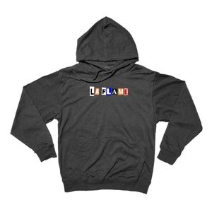 La Flame Pullover Hoodie Heather Charcoal